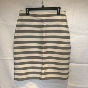 kate spade Skirts - kate spade grey and white pencil skirt